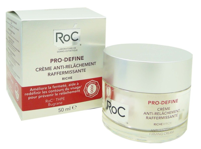 roc pro define creme anti relachement 50ml. Black Bedroom Furniture Sets. Home Design Ideas