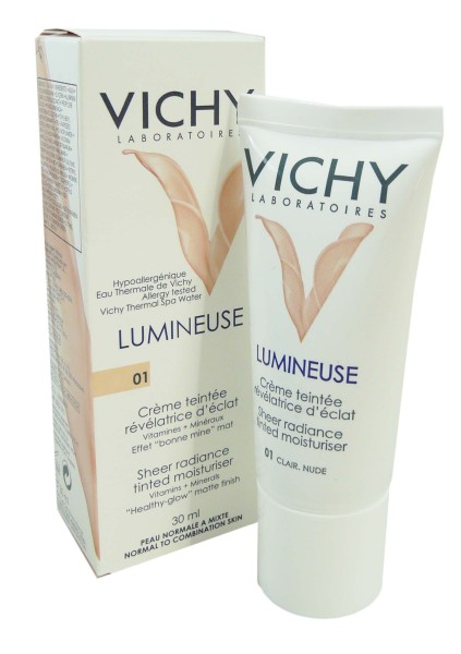 vichy lumineuse creme teintee 01 30ml. Black Bedroom Furniture Sets. Home Design Ideas