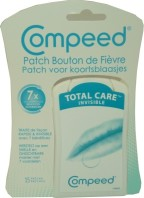 COMPEED BOUTON DE FIEVRE INVISIBLE 15 PATCHS