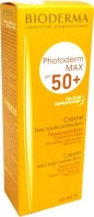 BIODERMA PHOTODERM MAX SPF 50+ CREME SOLAIRE 40ML