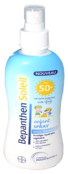 Bepanthen soleil spray enfant 50 200ml - Bepanthen coup de soleil ...