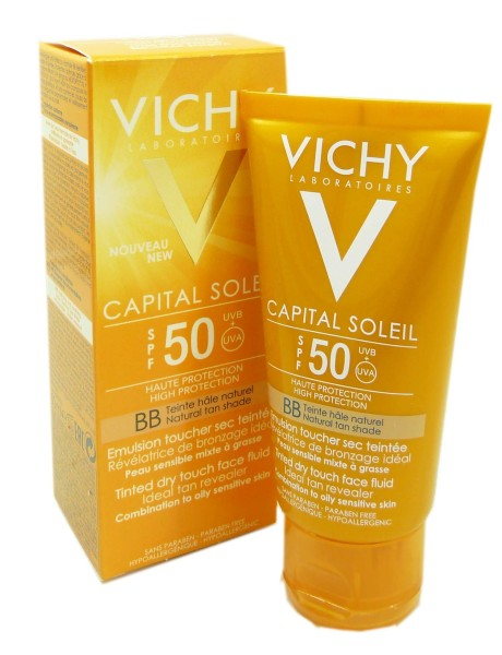 vichy capital soleil bb creme spf 50 50ml. Black Bedroom Furniture Sets. Home Design Ideas
