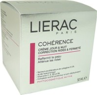 LIERAC COHERENCE CREME JOUR NUIT 50ML
