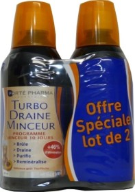 FORTE PHARMA DRAINEUR TURBODRAINE LOT DE 2