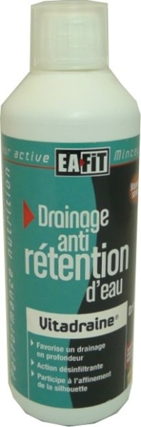 eafit vitadraine boisson retention d 39 eau 500 ml. Black Bedroom Furniture Sets. Home Design Ideas